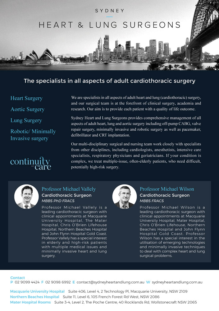 Sydney Heart & Lung Surgeons